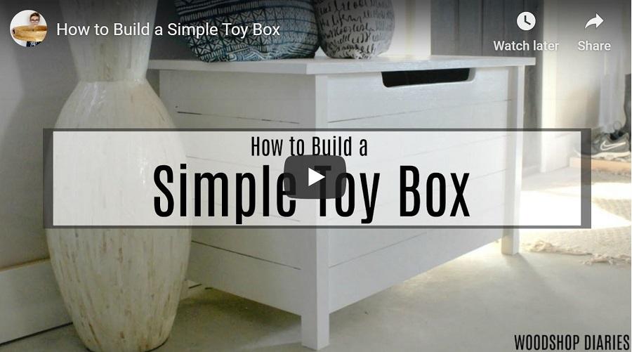 DIY toy box video
