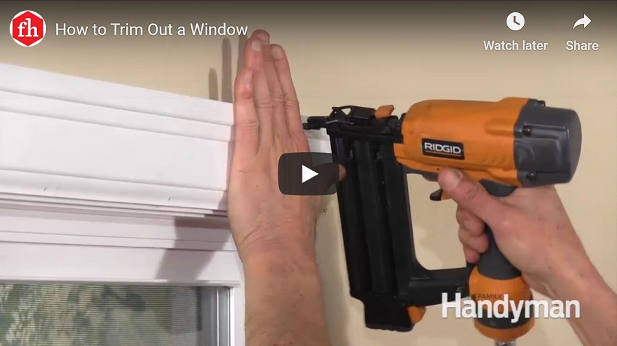 how to trim a window video