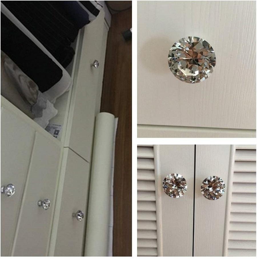 crystal knobs