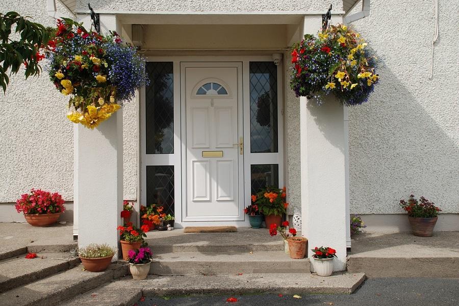 front door windows