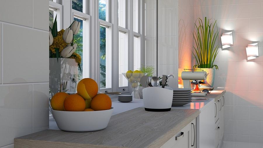 kitchen window light