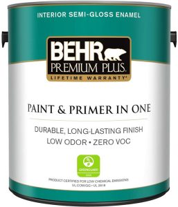 Behr Ultra Pure White Paint