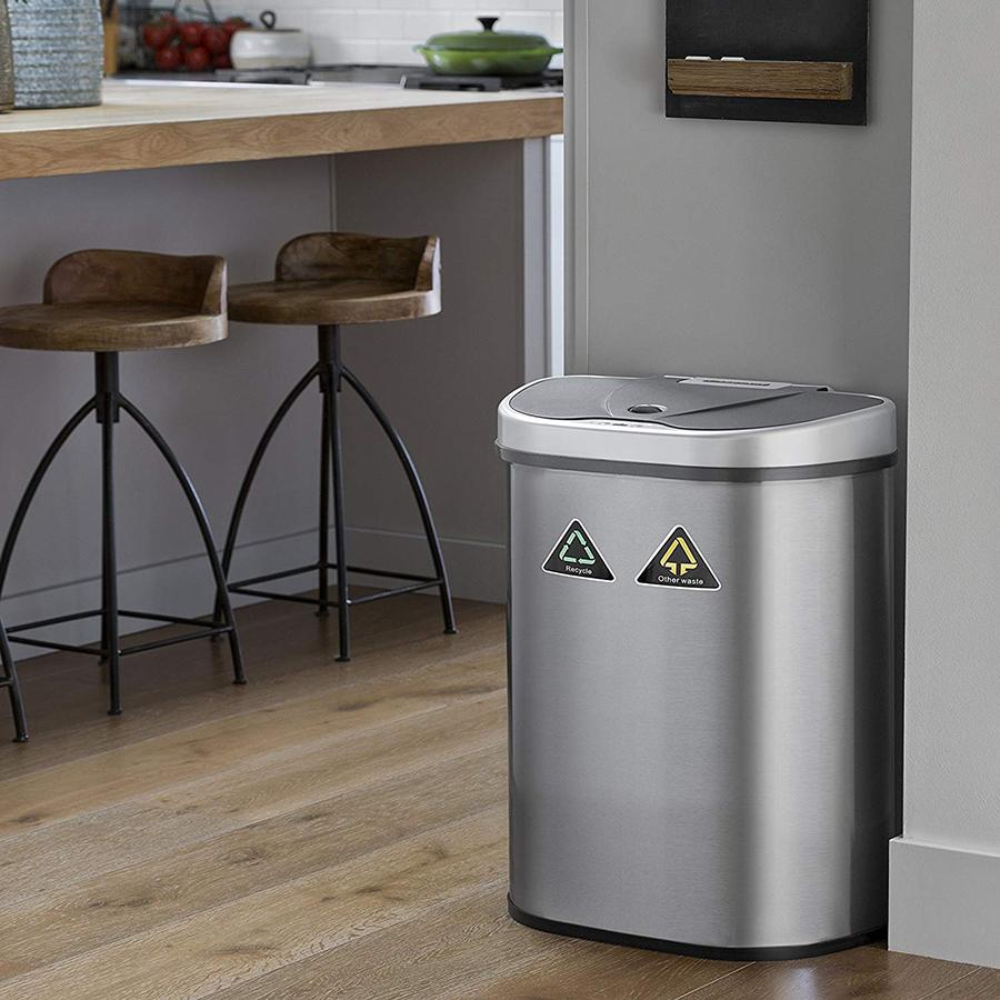 Dual Trash Can
