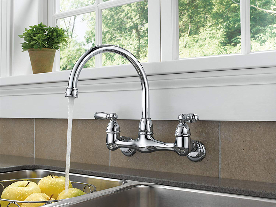 best wall mount kitchen faucet
