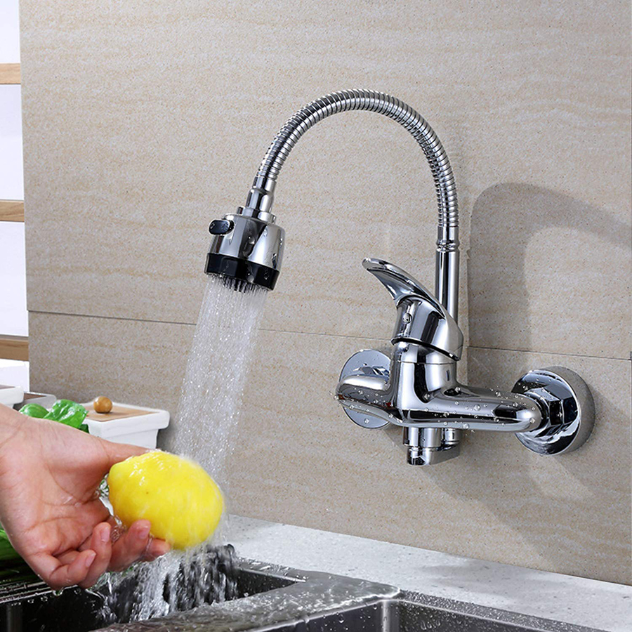 Faucet With Sprayer