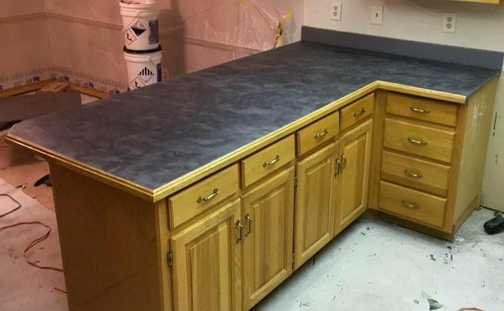 kitchen epoxy countertop