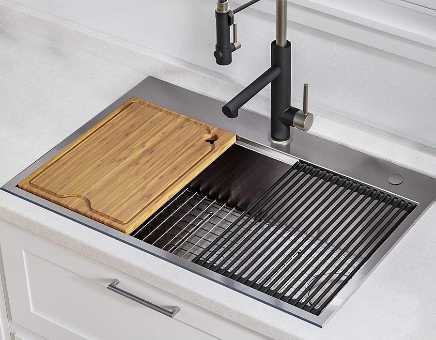top-mount sink