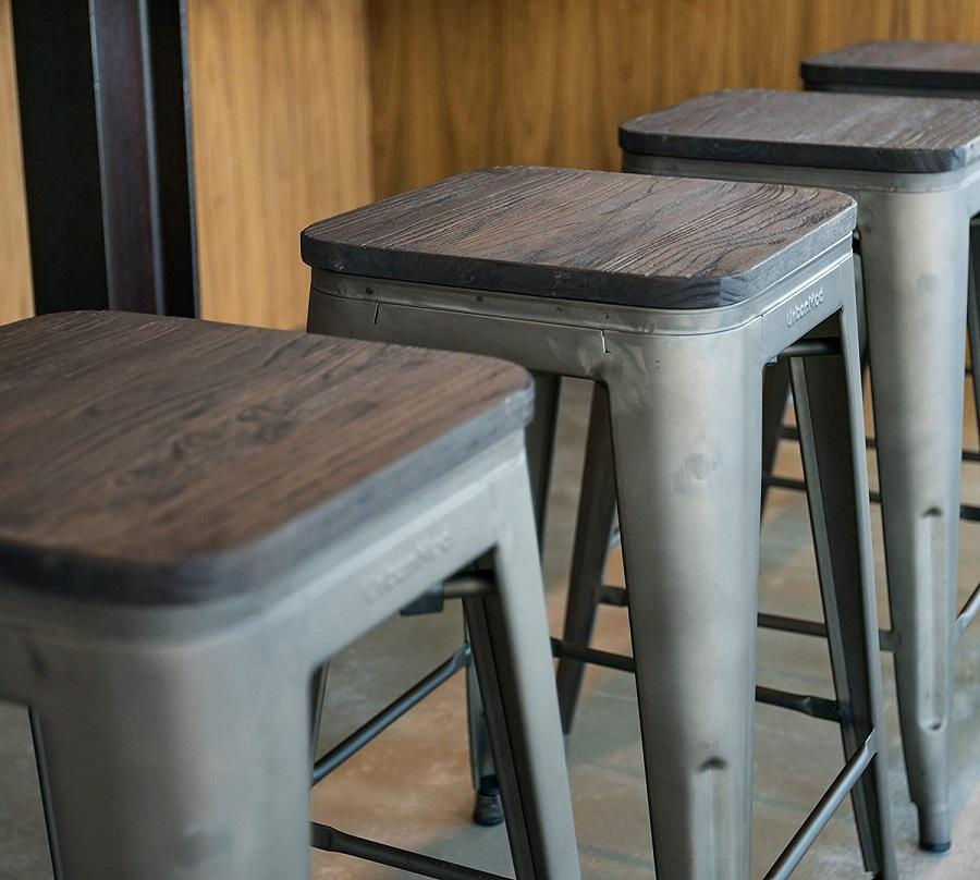metal stools