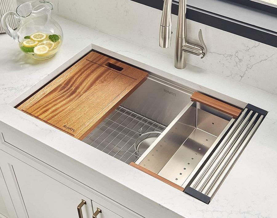 under-mount sink