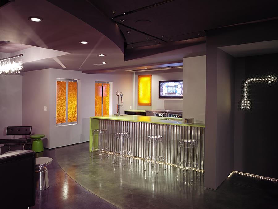Corrugated metal bar