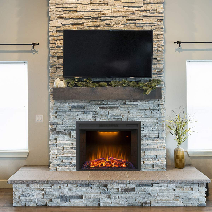 Fireplace Insert With Blower