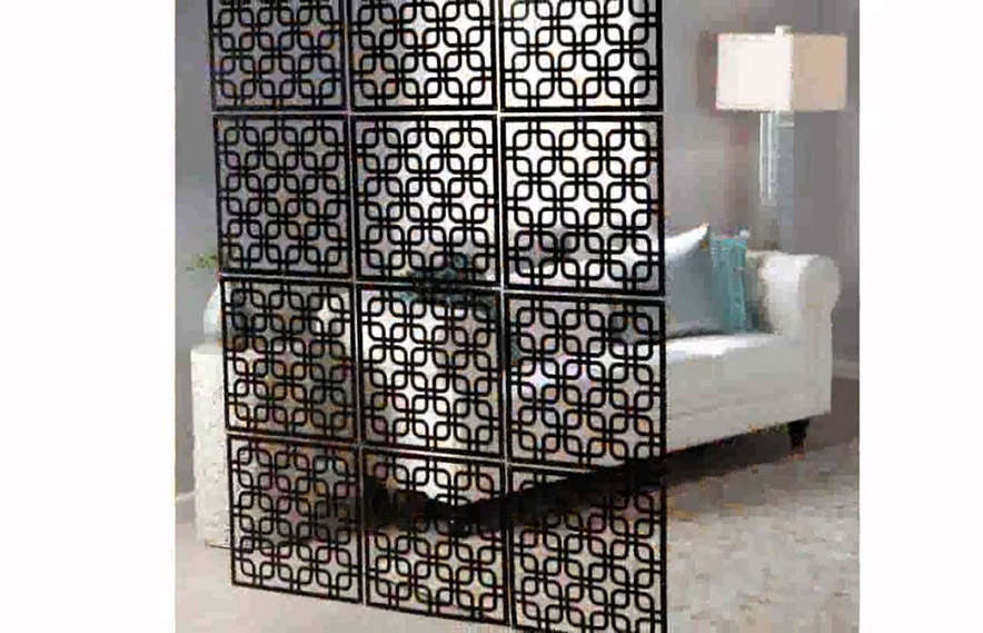 Metal privacy screen panels