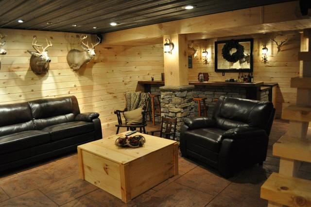 Rustic basement