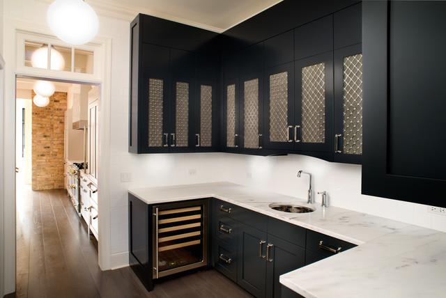 Decorative metal cabinet
