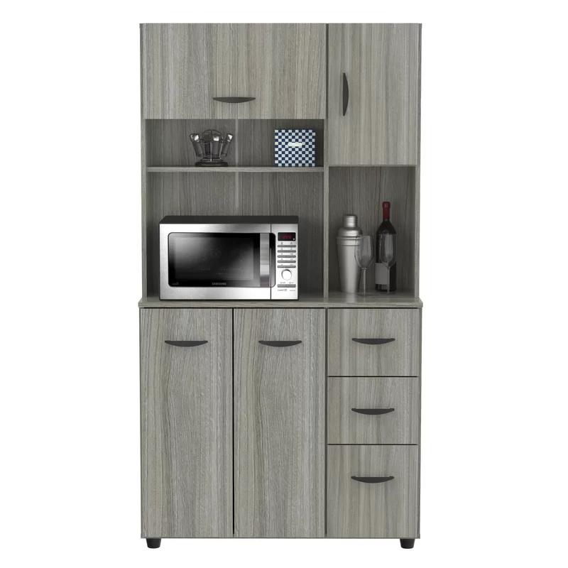 Kitchen Microwave Cabinet
