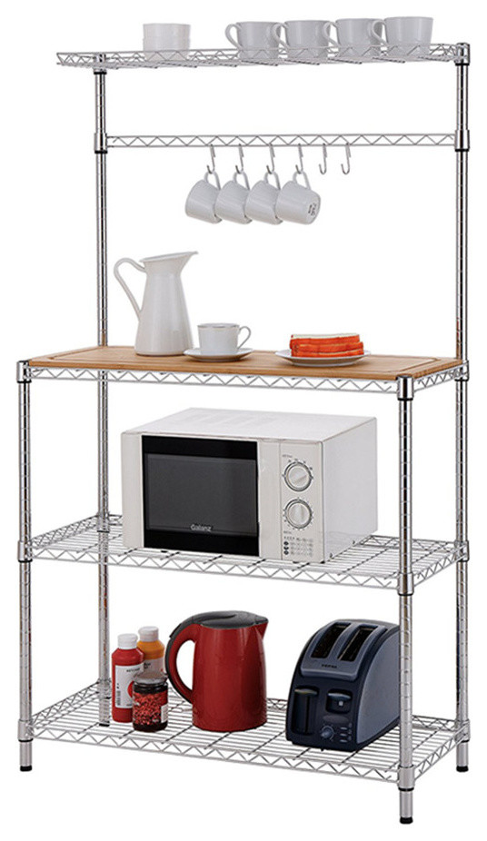 Metal microwave stand