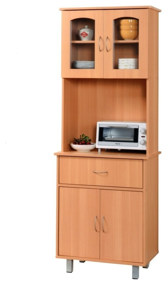 Microwave stand with storage