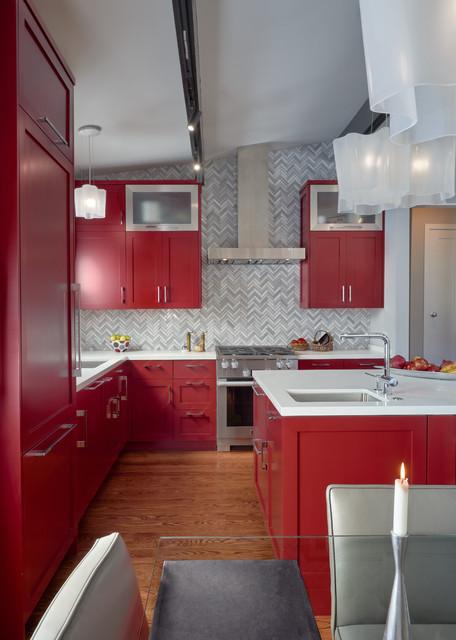 Mid century metal kitchen cabinets