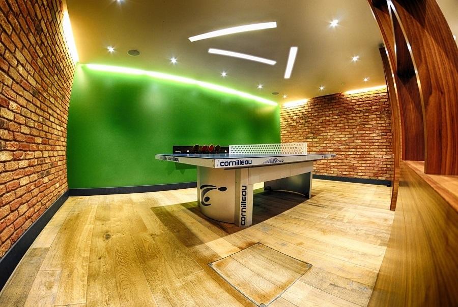 basement entertainment center