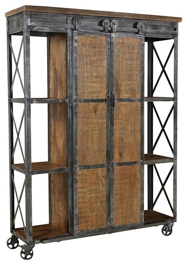 metal wood cabinet