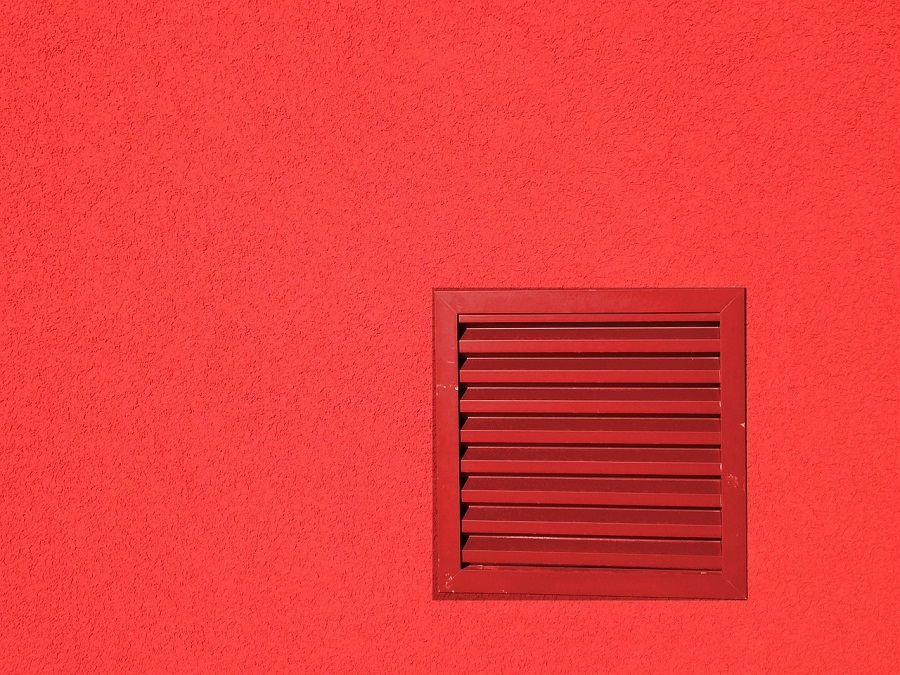 painted wall vent