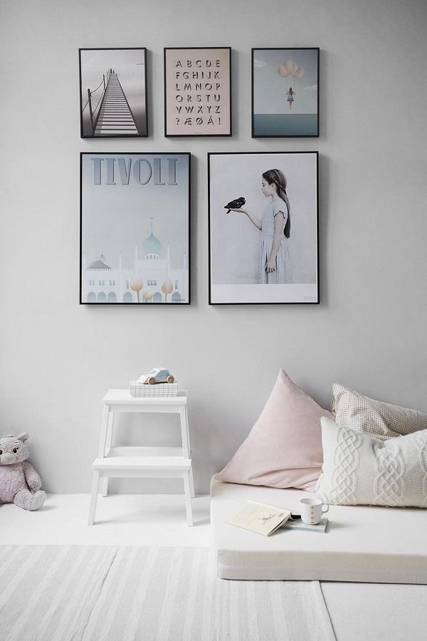 photo wall bedroom