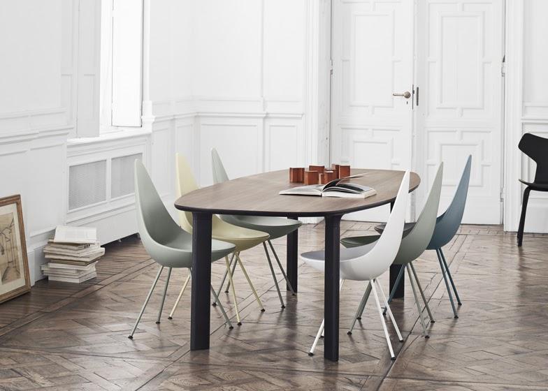 vintage drop chair design