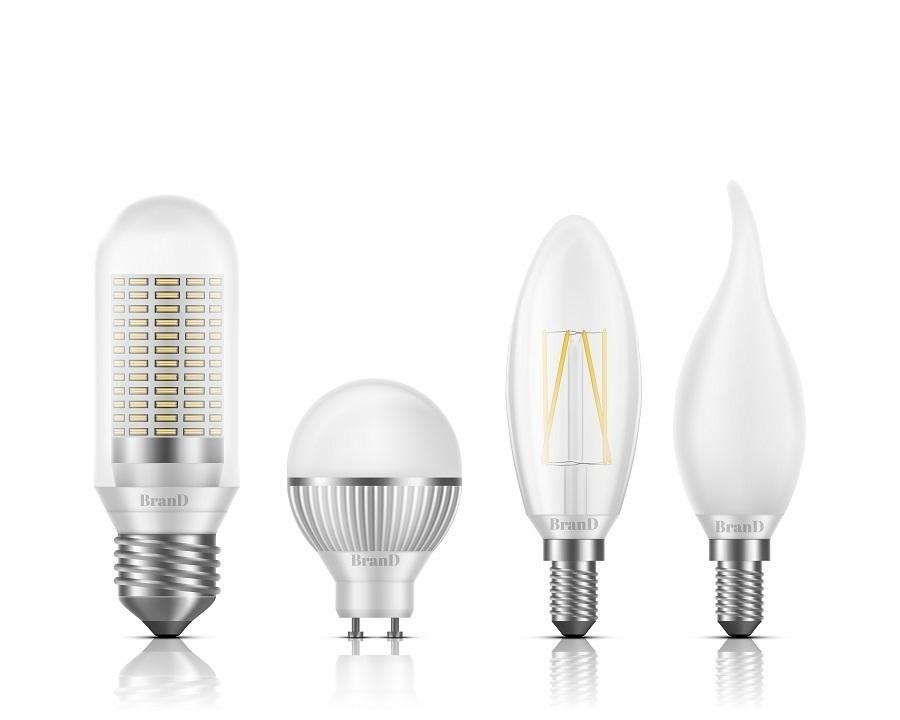 types of lightbulbs