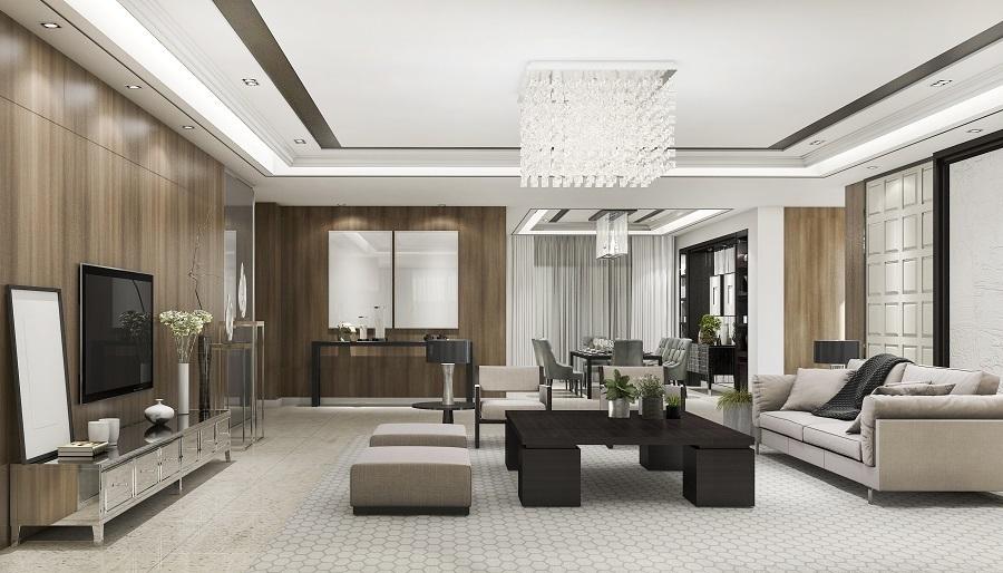 living room lighting high-end