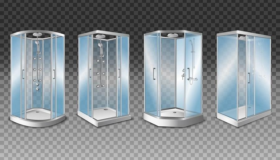 shower enclosure shapes