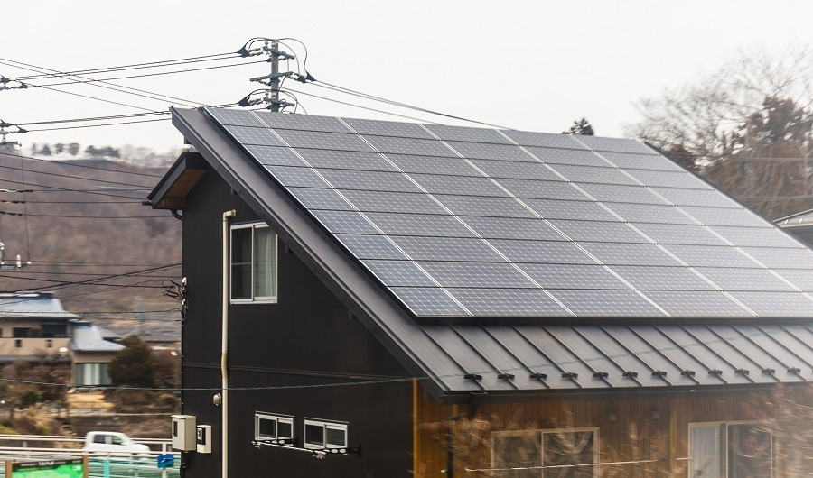 solar roof panel skins