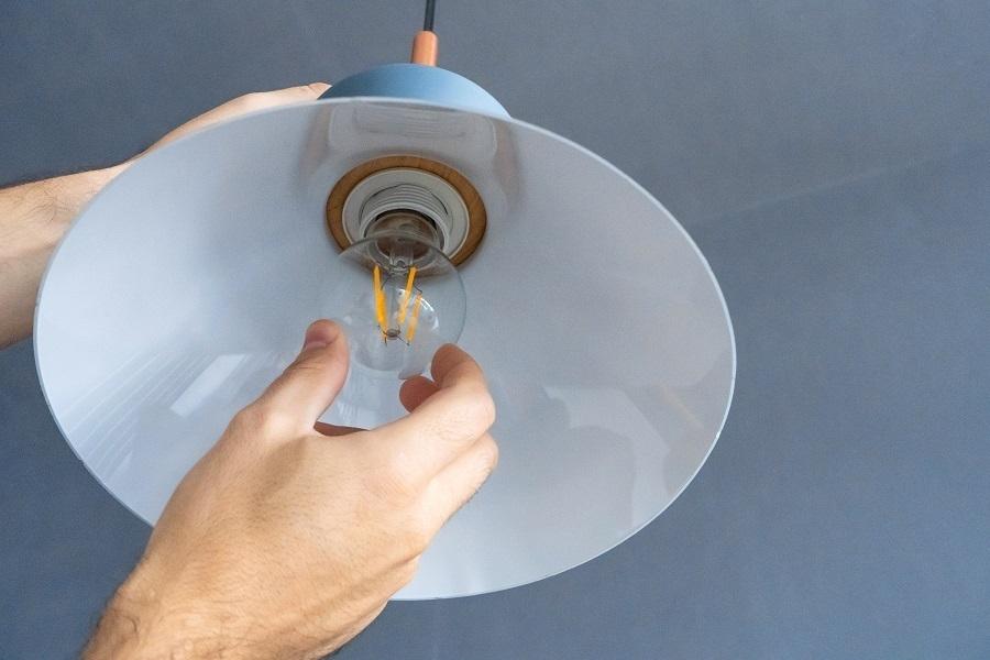 light fixture install