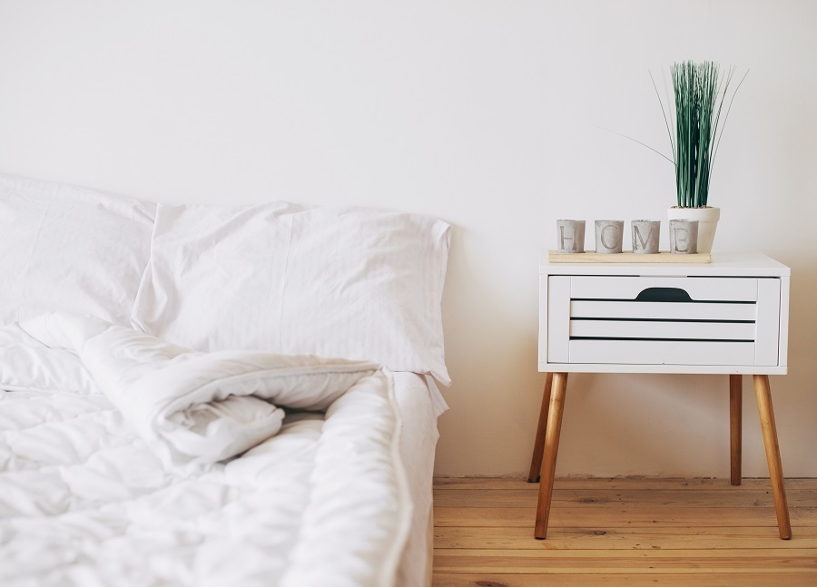 mid-century-modern style nightstand