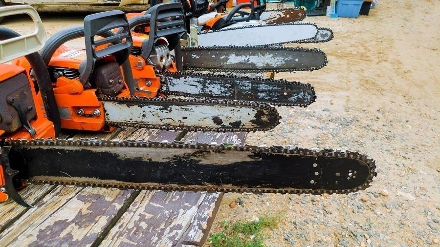 chainsaw sizes