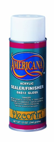 Americana Acrylic Sealer/Finish Aerosol Spray 12oz, Gloss