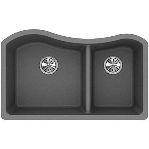 Elkay Quartz Classic Greystone Undermount Sink