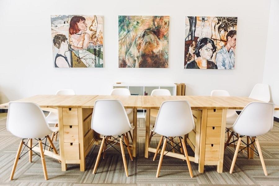 frameless canvas -prints