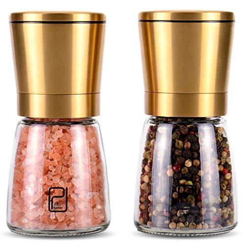 JCPKitchen Gold Salt and Pepper Grinder Set