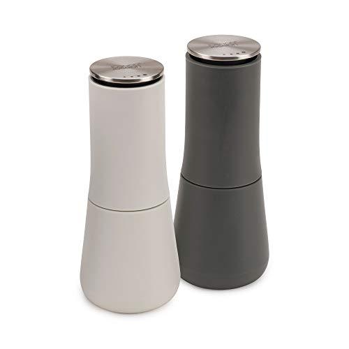 Joseph Milltop Salt and Pepper Grinder Set with Adjustable Grind Size Coarseness