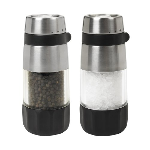 OXO Good Grips Salt and Pepper Grinder Set Stainless Steel