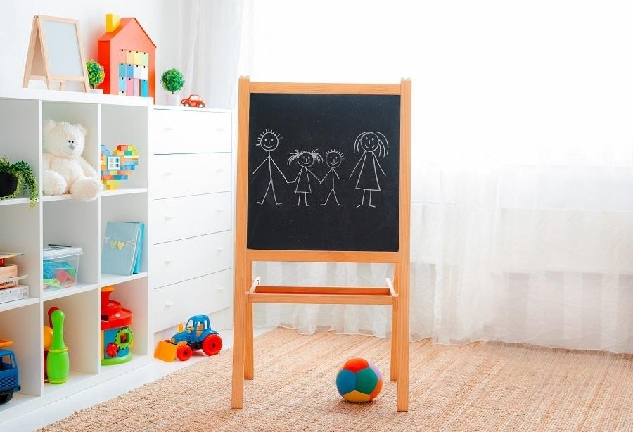 playroom blackboard