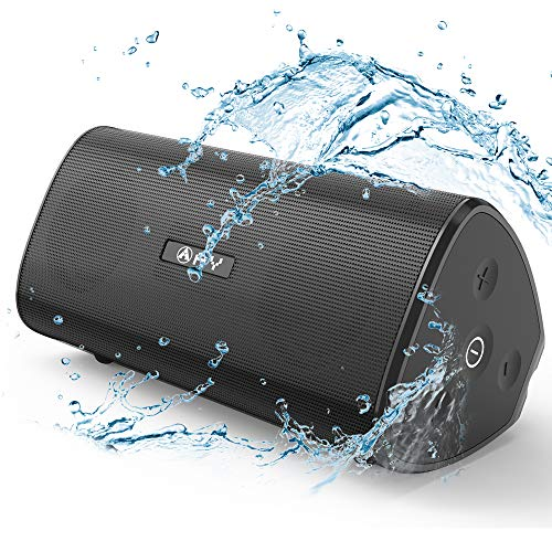 AY Portable Bluetooth 5.0 Speakers 30W Louder HD Stereo Sound with Richer Bass