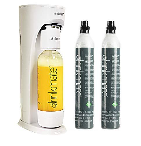 Drinkmate Sparkling Water Maker Carbonates Any Beverage