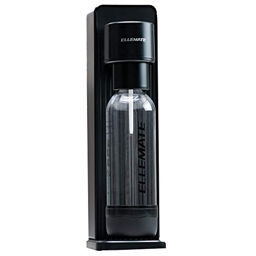Ellemate Dynamic Cordless CO2 Carbonation Machine for Sparkling Water Fizzy Beverages
