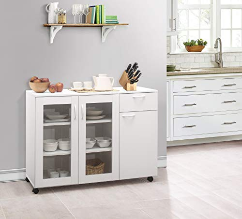 Kings Brand Furniture Buffet Server Sideboard Kitchen Storage Cabinet