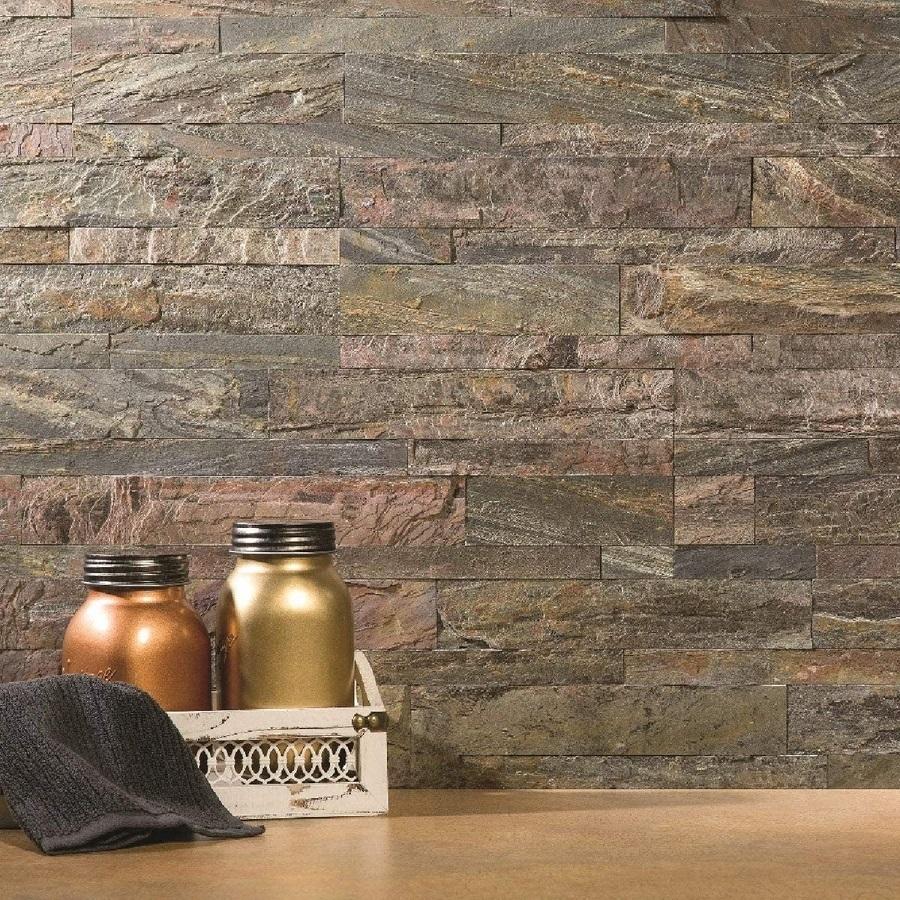 natural stone backsplash