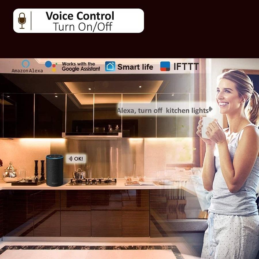 smart kitchen lights
