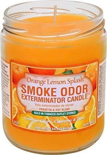 Smoke Odor Exterminator Candle Orange Lemon