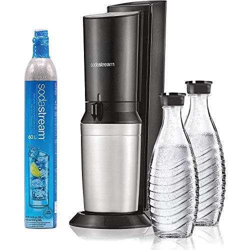 SodaStream Aqua Fizz Sparkling Water Machine with Co2 & Glass Carafes