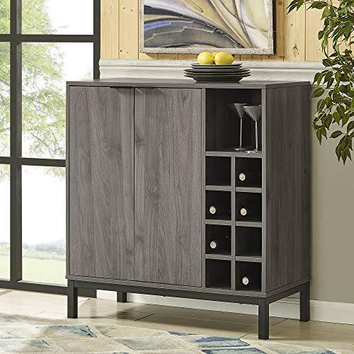 Walker Edison Mid-Century Modern Wood Kitchen Buffet Sideboard